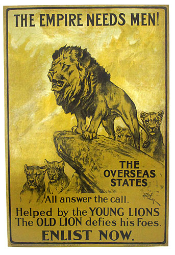 World War I Posters from England