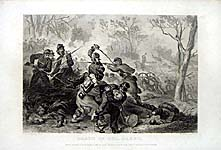 Death of Col. Baker